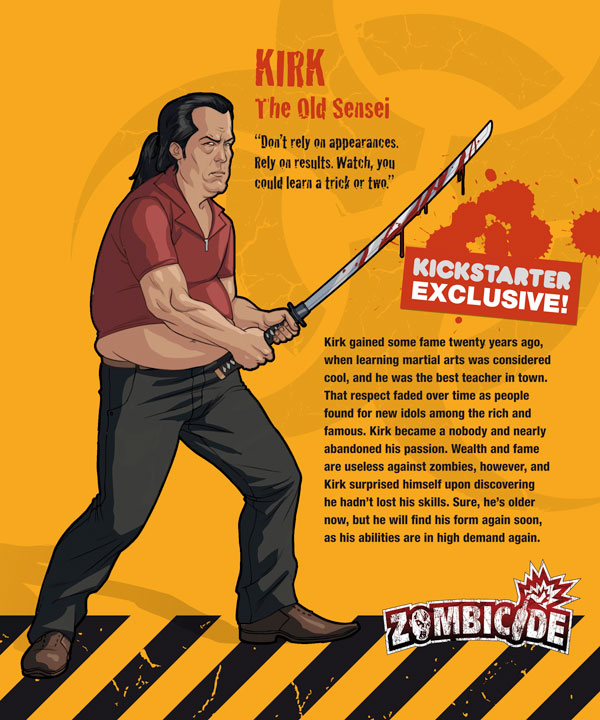 Zombicide personajes KIRK