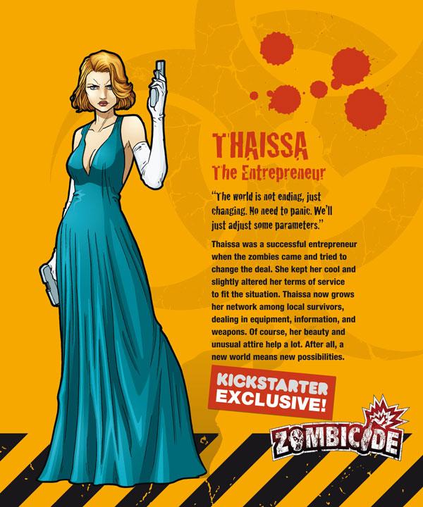 Zombicide personajes THAISSA