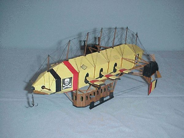  VICTORIAN SCI-FI AIRSHIP