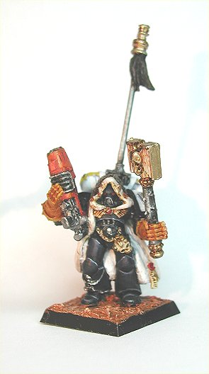 White Scars Chapelain conversion