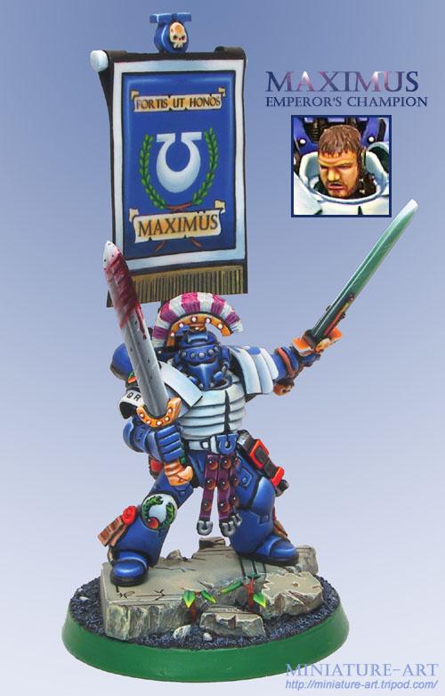 Maximus, Emperor's Champion