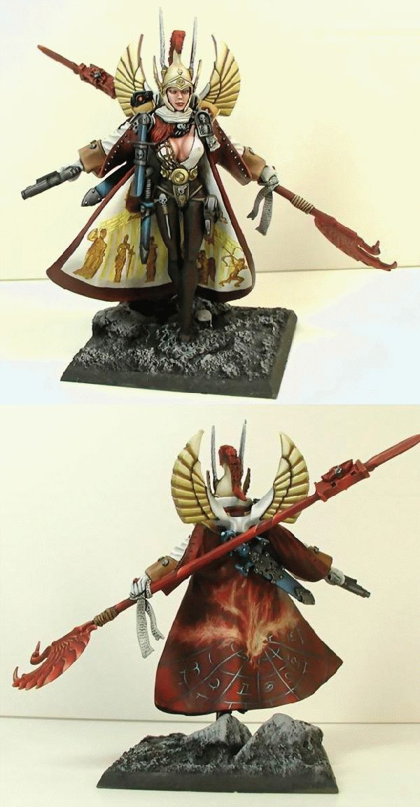 The 3rd commander of my =I= warband,