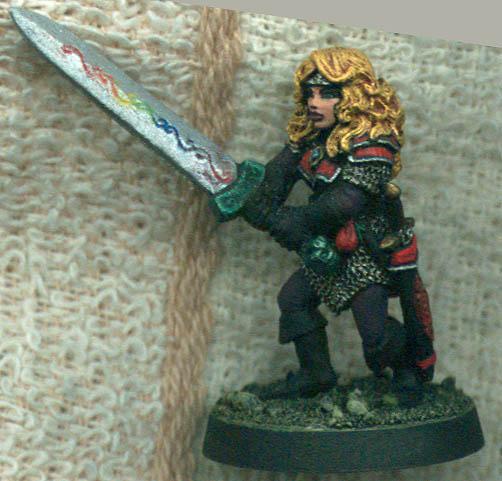 Swordswoman