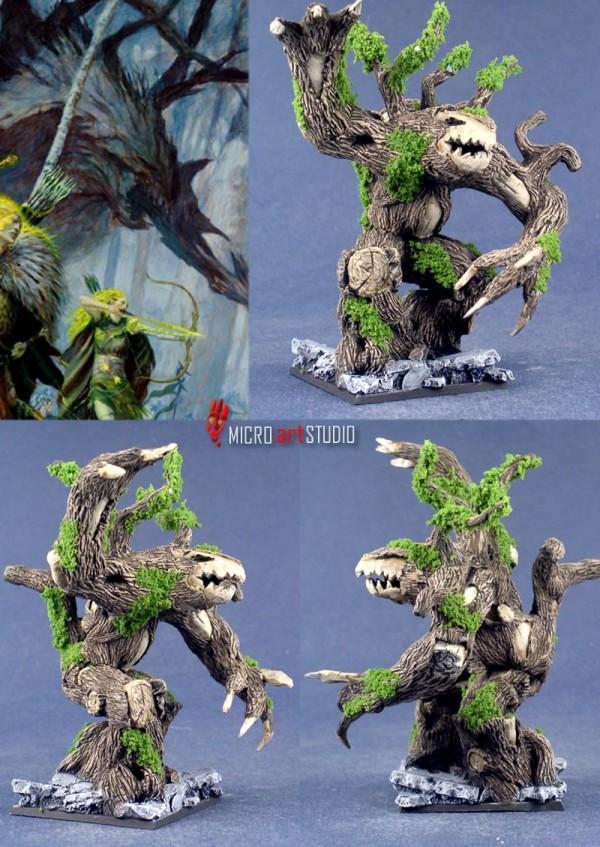 Sculpted Treeman
