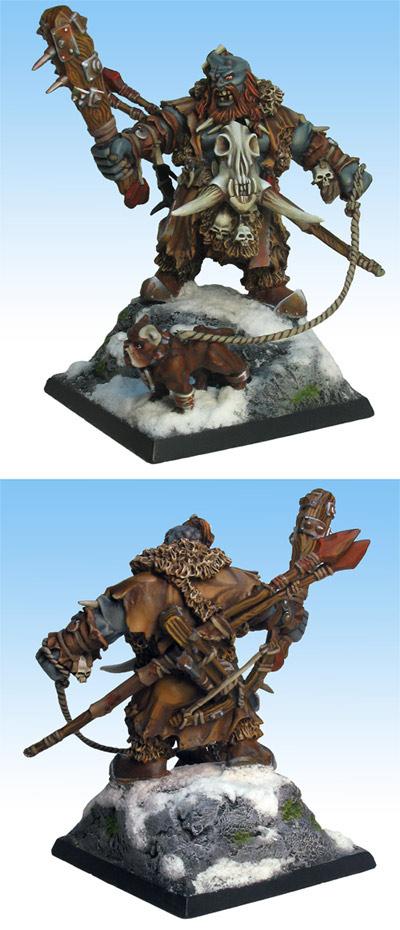 Ogre Hunter and his Bulldog