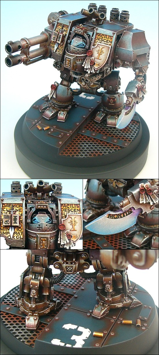 Grey Knights Dreadnought, Gold at UK GD 2004