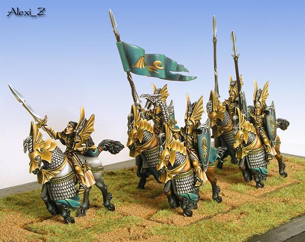 High Elf Dragon Princes