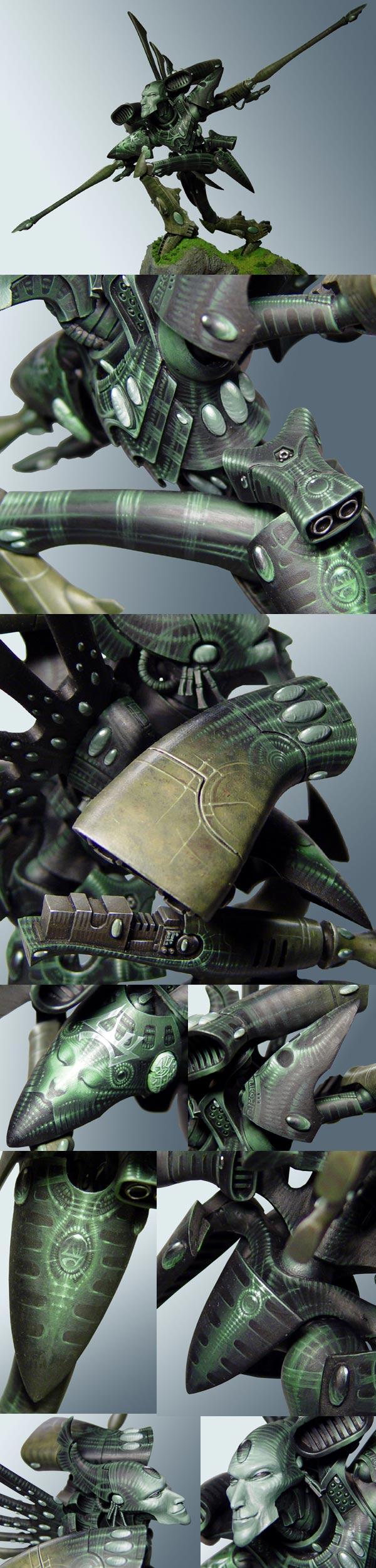 Kettarian hunter eldar Revenant titan