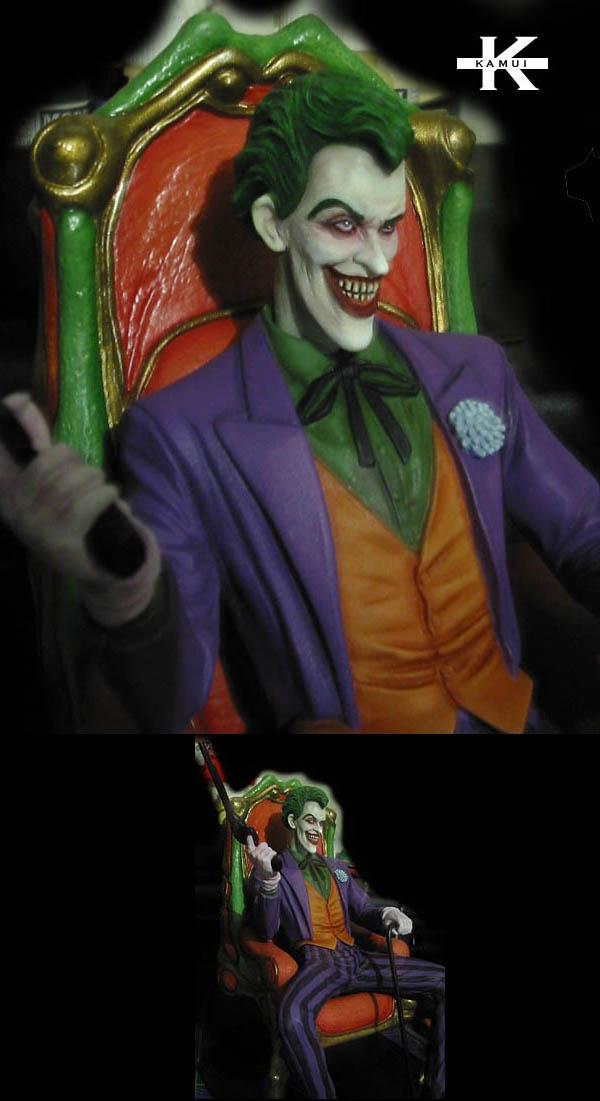 Coolminiornot Joker On Throne By Kamui K
