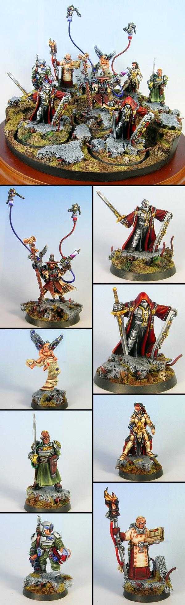 Witchhunter Inquisitor & Retinue