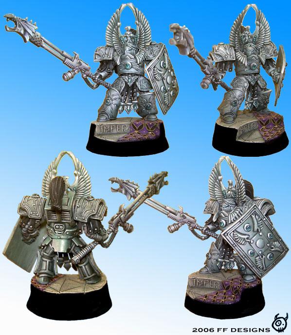 Legio Custodes - Emperor's Inner Guard