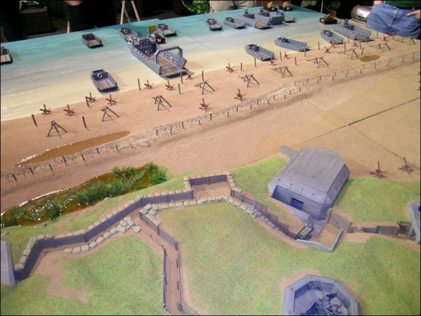 CoolMiniOrNot - D-Day game table - view 2/4 by Tigrou from FW