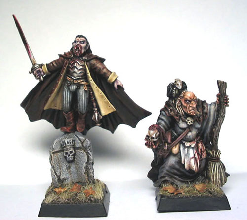Vampire count army characters