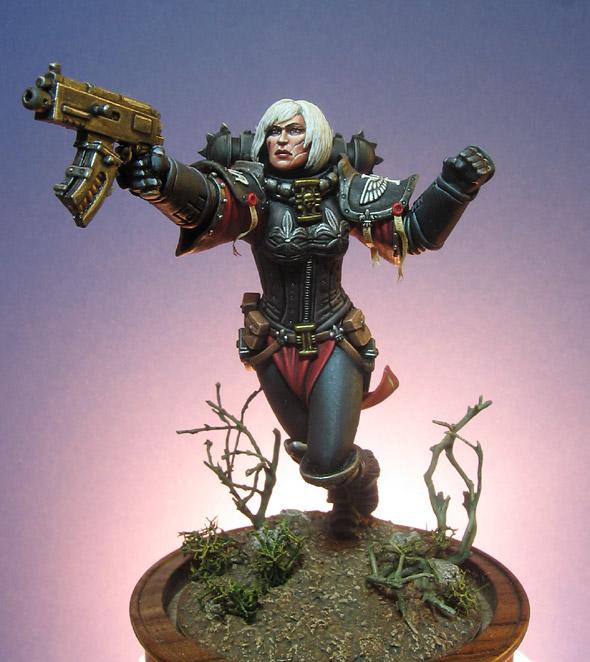 Valreia  ,   Sister of Battle