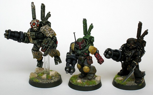 Stealth Ronins, in Tau service
