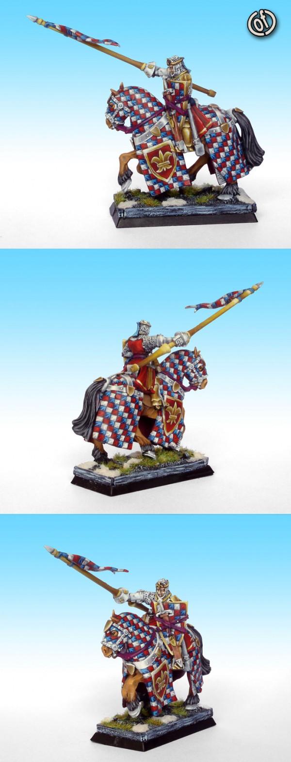 Bretonnian mounted Hero