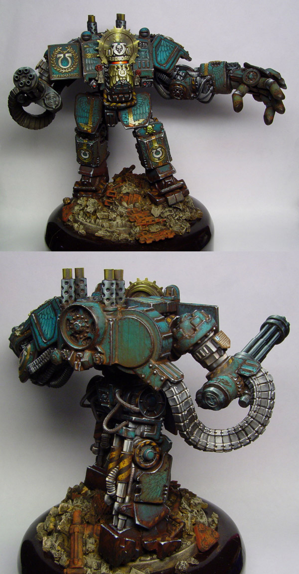 Ancient Vasoudaeva - ultramarines venerable dreadnought