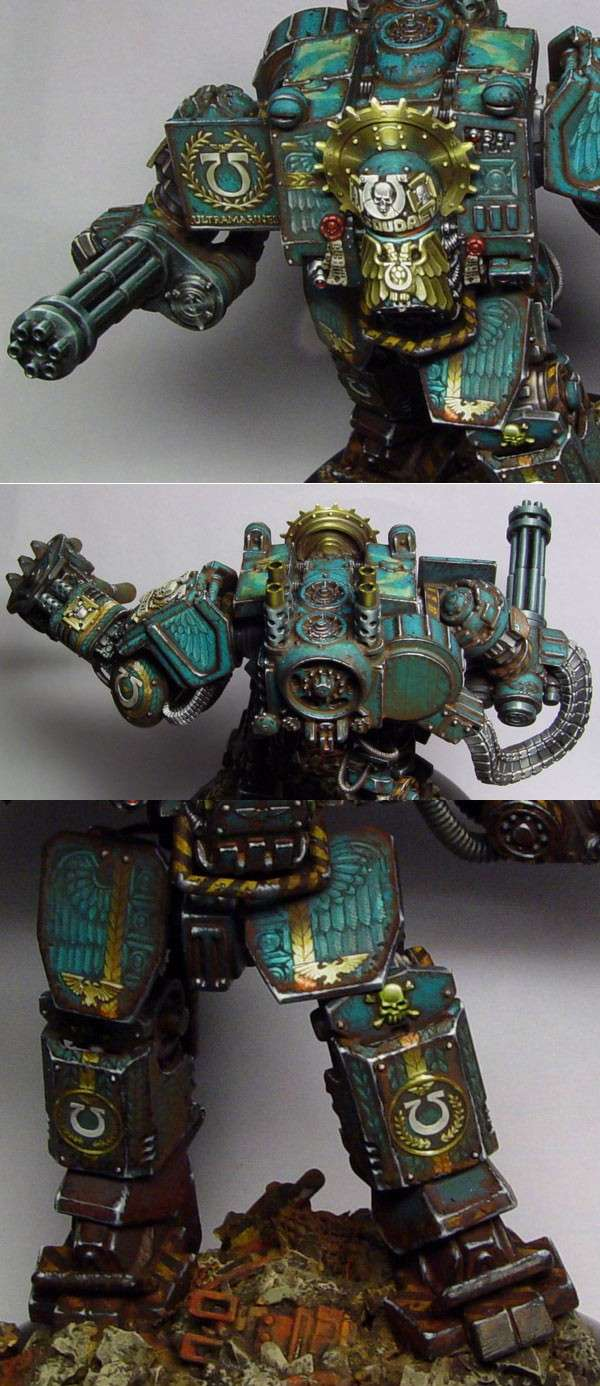 Ancient Vasoudaeva - venerable dreadnought details