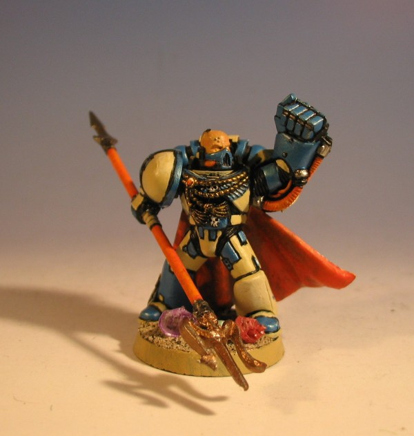 how to make a space marine chapter