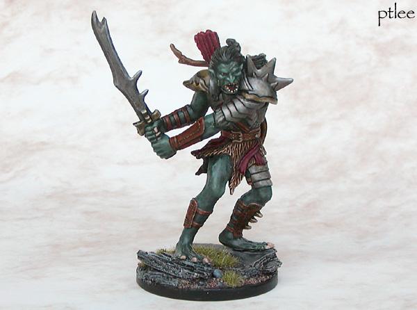 Coolminiornot War Troll D D Miniatures Wardrums By Temperance