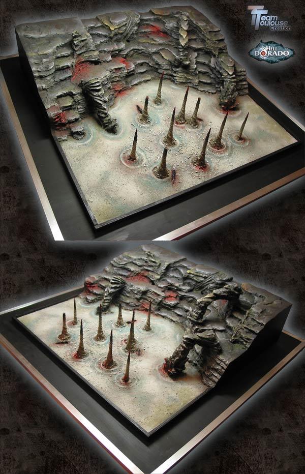 Helldorado - table sous-terraine.