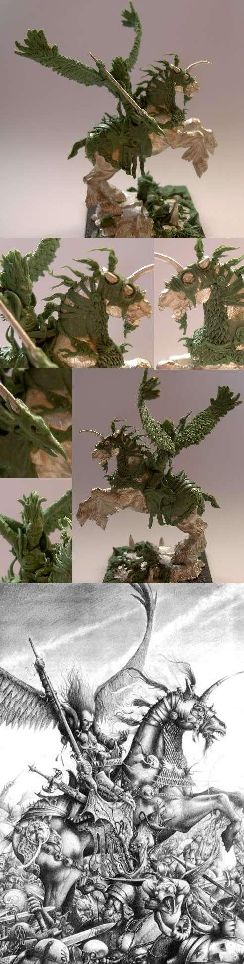 Dharkar-lord of tzeentch,green