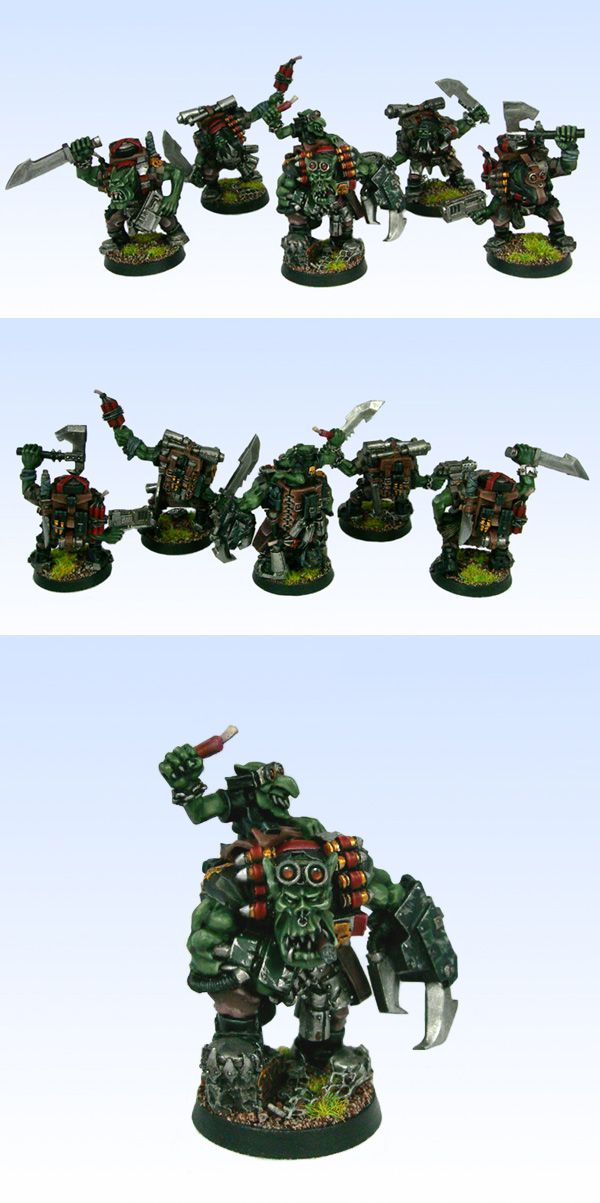 Ork Kommado Squad
