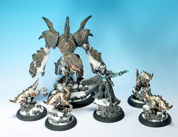 Hordes Legion of Everblight Warpack: Lylyth, Carnivean, Shre