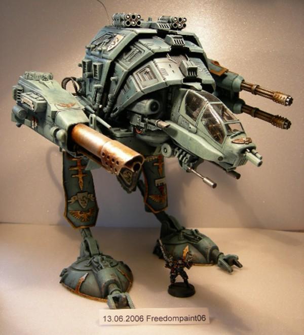 Coolminiornot warhound titan by beowahr