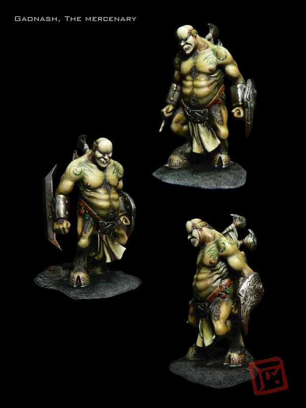 Gaonash, le mercenaire