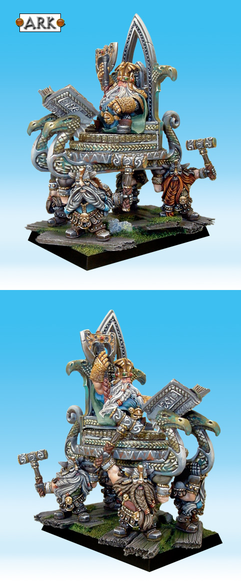 High King Thorgrim Grudgebearer on Throne of Power