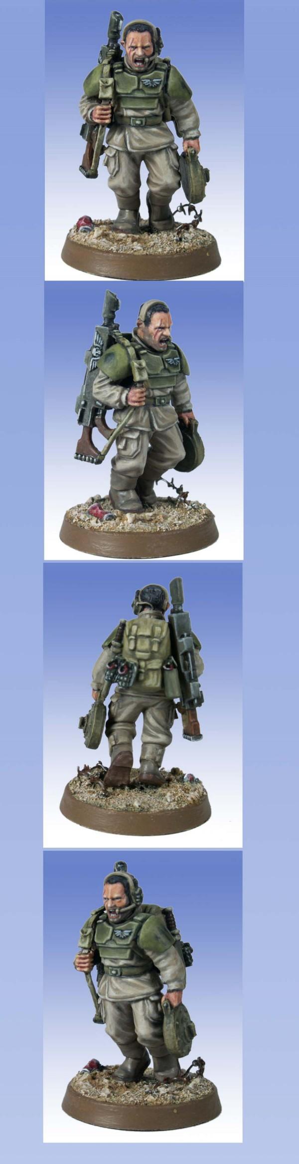 Imperial Guard Cadian Grunt Sgnt Krom