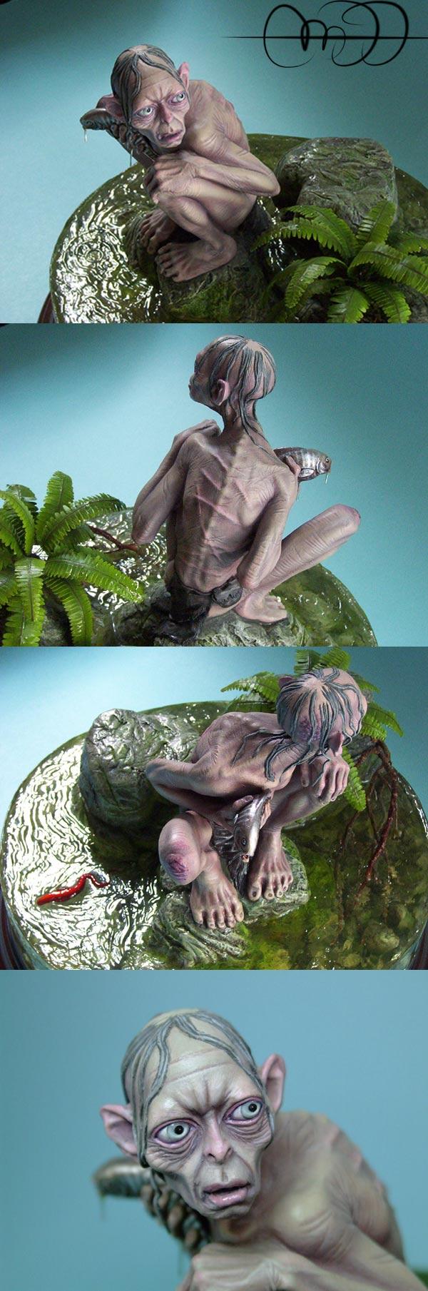 El estanque vedado (Gollum-Smeagol)