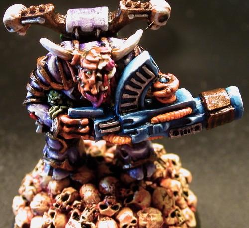 Nurgle Chaos Lord with Kai Gun