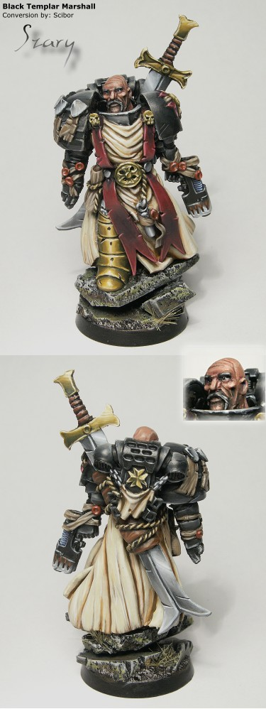Black Templar Marshall (Converted)