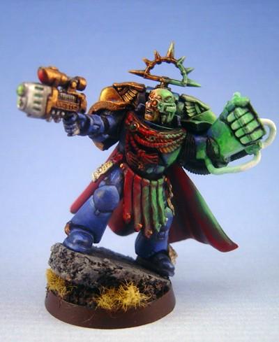 Ultramarines Commander with Power fist