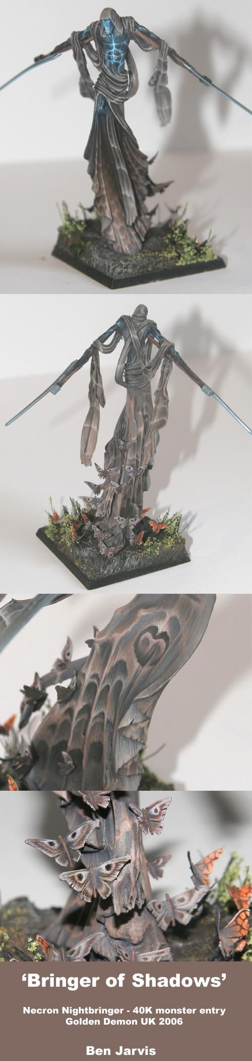 Necron Nightbringer - UK Golden Demon Entry