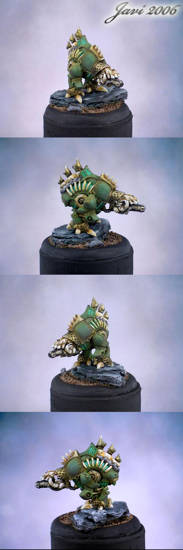 Cryx Defiler Bonejack