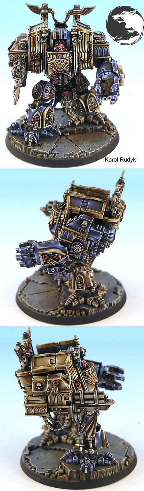 Ultramarine Venerable Drednought