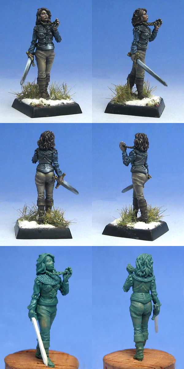Maiden of Sigmar - painted