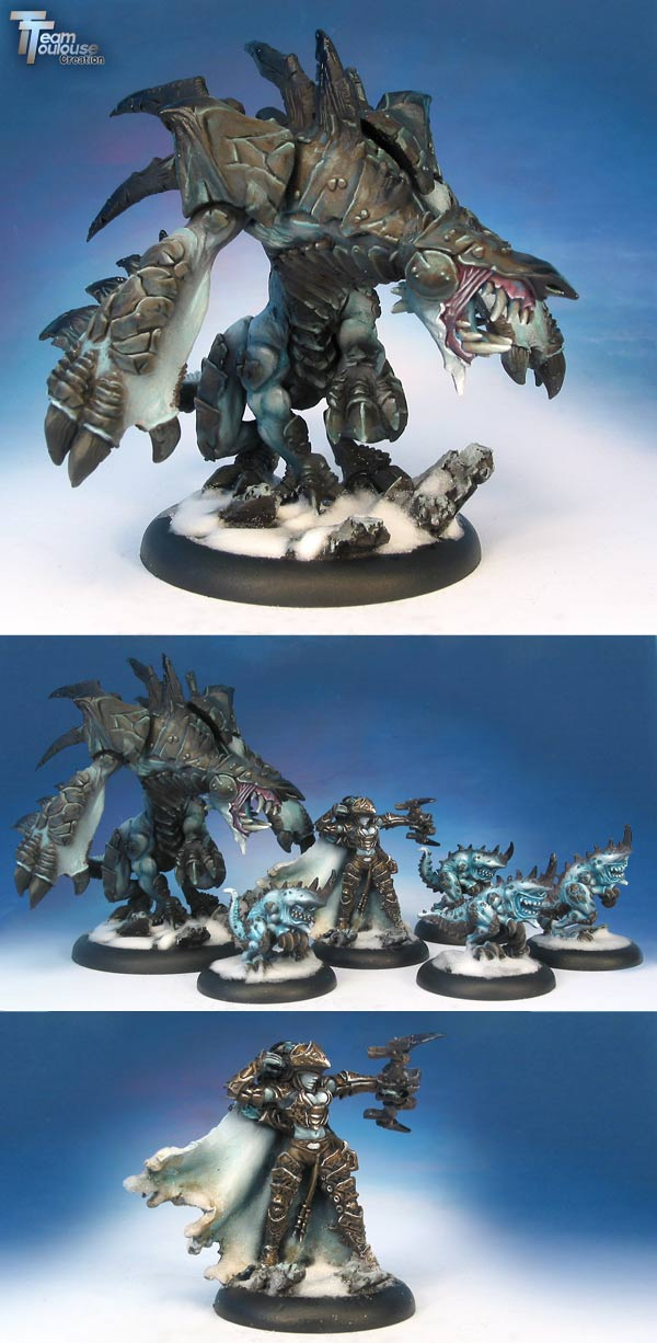 Carnivean and everblight Warpack