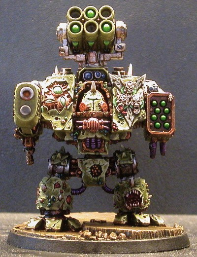 Nurgle Forgeworld Dreadnought