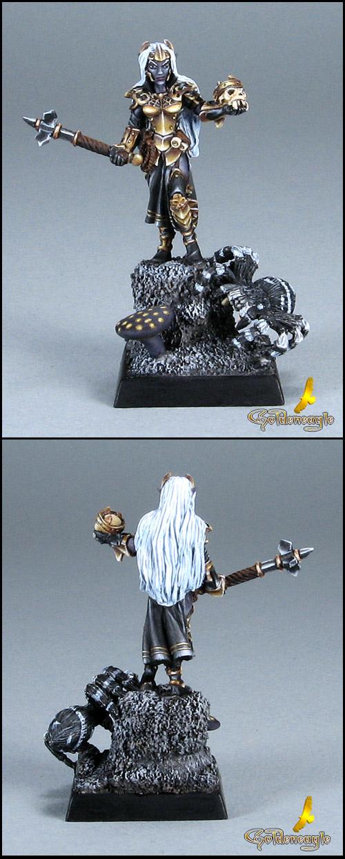 2524 Alvhaera, Dark Elf Cleric
