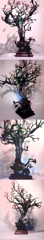 Scratchbuilt WE Treeman Ancient