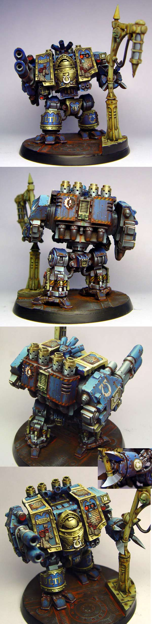 Ultramarines venerable dreadnought