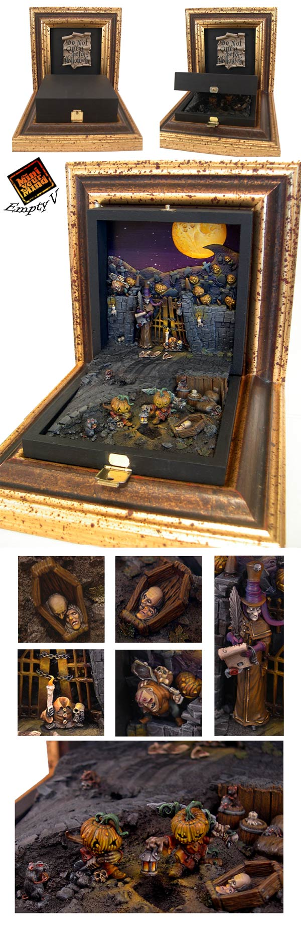 Do not open before Halloween - detailed view