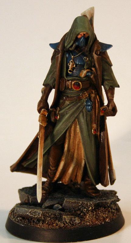 CoolMiniOrNot - Inquisitor Eldar Ranger by Bloodsbane