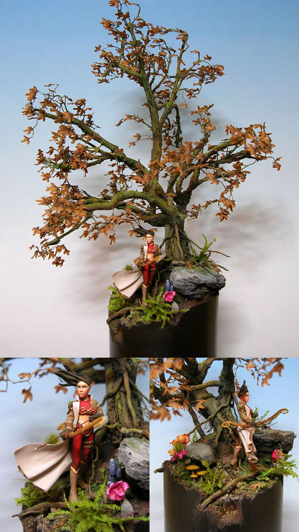 L'elfe sous l'arbre