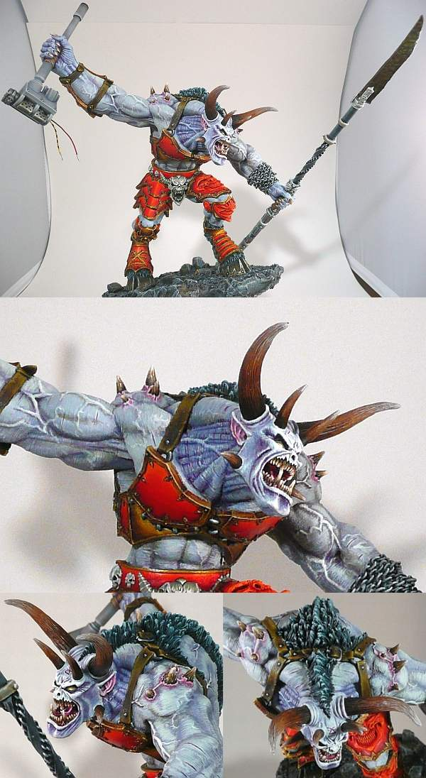 Daemon Prince with Berserker Glaive