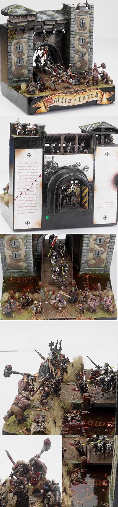 UK GD 07 Gold winning Diorama